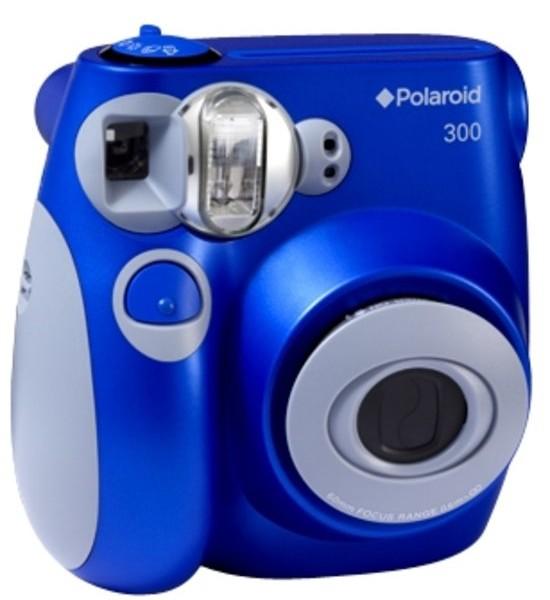 polaroid 300 instant camera blauw
